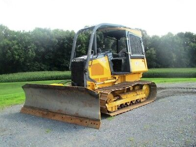 2013 John Deere 450J Crawler Dozer, Clean Machine w/ROPS, Runs well