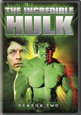 THE INCREDIBLE HULK SEASON TWO 2 New Sealed 5 DVD Set