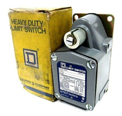 SQUARE D TUB 1 SERIES D LIMIT SWITCH 600V 30A CLASS 9007, NEW* #211084