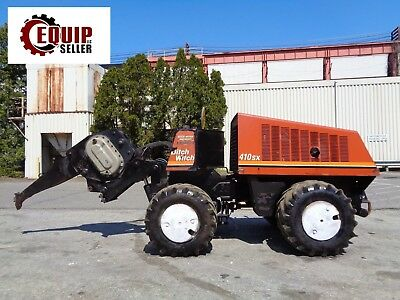 2009 Ditch Witch 410SX Articulating - Cable Plow - Boring Attachment - Diesel