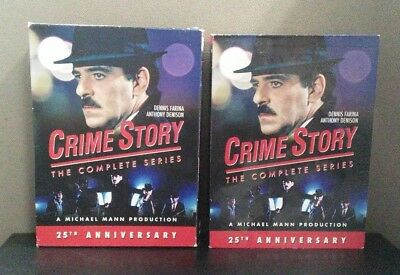 Crime Story: The Complete Series    (9 DVD Set)  w/Slipcover     LIKE NEW