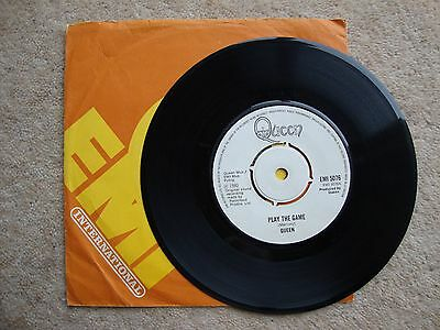 """Queen ~ PLAY THE GAME ~ 7"""" SINGLE 1980"""