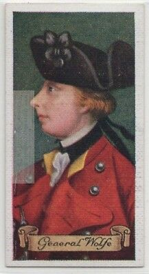 General James Wolfe Quebec Canada Plains of Abraham 80+ Y/O Trade  Card
