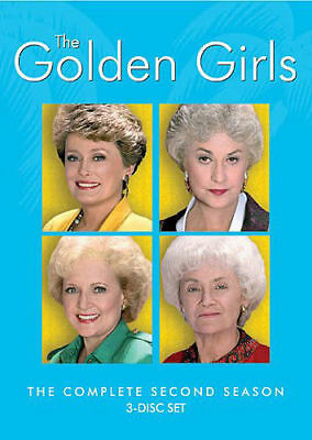 The Golden Girls: The Complete Second Season NEW DVD FREE SHIPPING!!