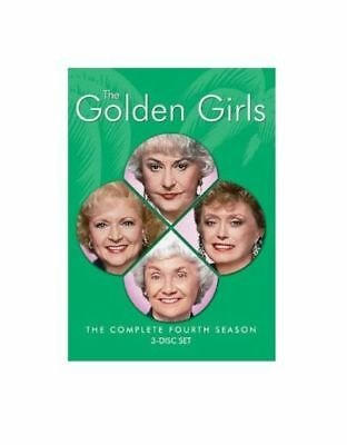The Golden Girls: Complete Fourth Season 4 NEW DVD FREE SHIPPING!!