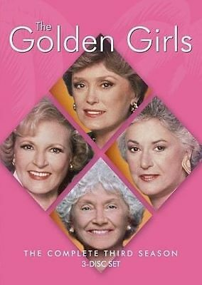 The Golden Girls: The Complete Third Season NEW DVD FREE SHIPPING!!!!