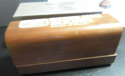 Sterling Sound Walnut Record Cleaning Brush in box. NM Condition Less Fluid