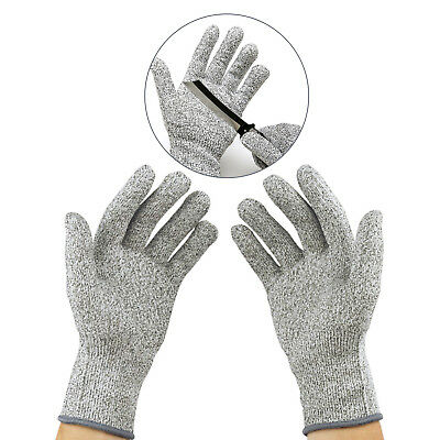 100% New Cut Resistant Gloves,Level 5 Protection, Food Grade, Medium USA