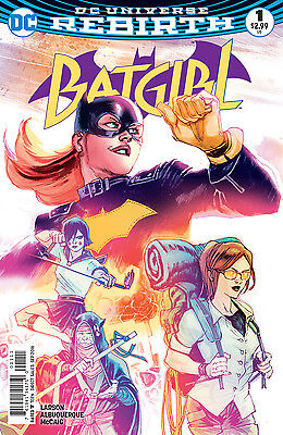 BATGIRL #1, New, First print, DC REBIRTH (2016)