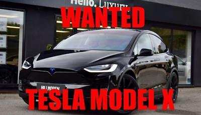Tesla Model X  ** NOW SOLD ** MORE REQUIRED