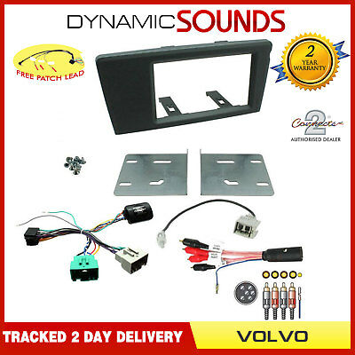 Volvo XC90 2001-14 Car Stereo Double Din Fascia Panel Fitting Kit