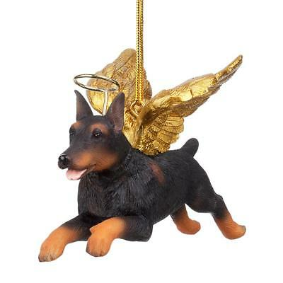 DESIGN TOSCANO ANGEL Doberman Holiday Christmas Ornament - $14.90 ...