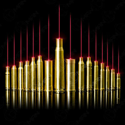 16 Types of NEW Brass Red Dot Laser Cartridge Bore Sighter Boresighter for Rifle