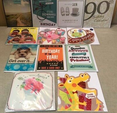 72 Greeting Cards Top Quality Birthday 3D Kids Card Shop Joblot Wholesale Lot 12