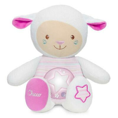Chicco First Dreams Lullaby Sheep Night Light (Pink) Will Record - RRP £19.99