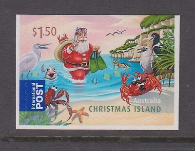 Christmas Island 2011 International Post Christmas booklet stamp