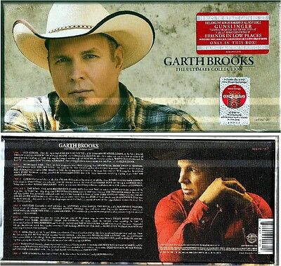 Garth Brooks - The Ultimate Collection - New Box CD Set - 10 CDs