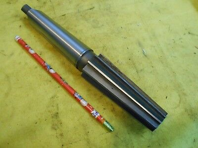 ".125"" PER FOOT TAPER x 4 MORSE TAPER SHANK REAMER cutting tool MILL RIVER USA"