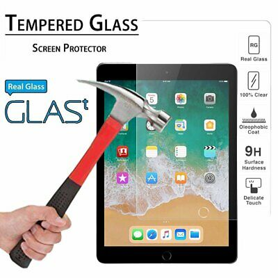 "Thinnest HD Tempered Glass Screen Protector for iPad 9.7"" 2018 6th Generation"