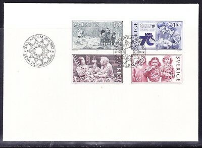 Sweden 1982 Living Together  First Day Cover  Unaddressed
