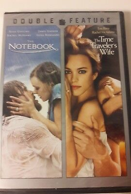 The Notebook/The Time Travelers Wife (DVD, 2014, 2-Disc Set)