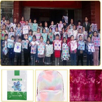 Children Student DIY Tie-Dye Pigment Eco-Friendly Paint For Fabric 13 Colors