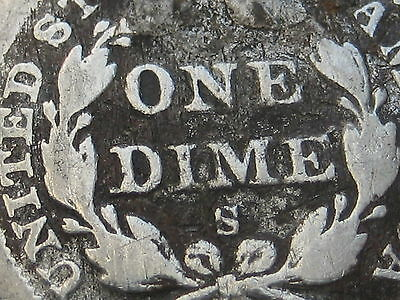 1858 S Seated Liberty Dime- Very Rare Key Date
