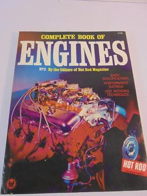 Complete Book of Engines Petersen 2nd Annual 1966 Hot Rod Magazine Manual