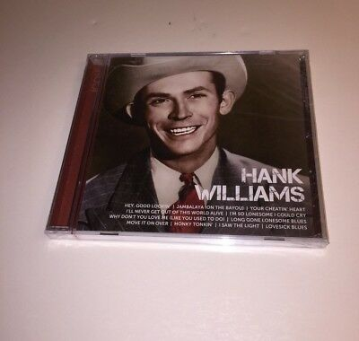 New Hank Williams Icon The Best Of CD Factory Sealed
