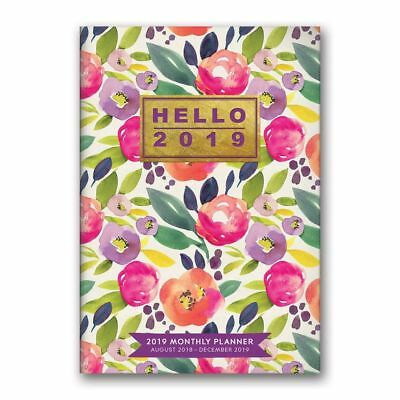 Bold Blossoms Planner, Weird | Interesting by Orange Circle Studios Corporation