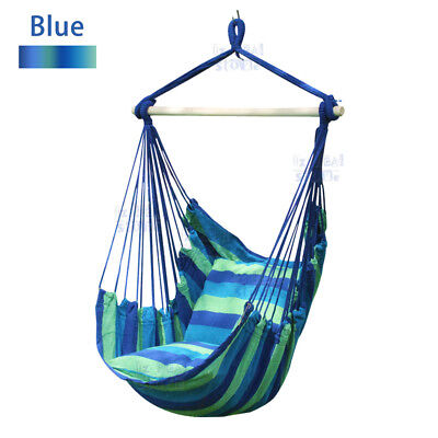 Gardern Deluxe Hanging Hammock Chair Swing Garden Outdoor Camping OZ Seller
