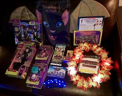 Hotel Transylvania 3 WORLD PREMIERE MOVIE Goodie Bag Lot RARE TOYS & MORE! LOOK