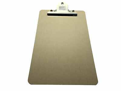 Foolscap MDF Clipboard with Butterfly Clip (A4 Plus) Large Board
