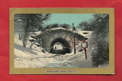 Victorian Post Card NEW YORK CITY  The Tunnel of Love, Central Park