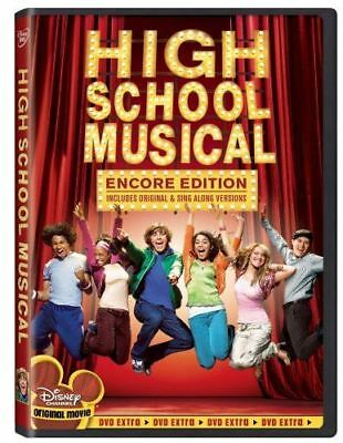 High School Musical (Encore Edition) DVD Brand New Sealed