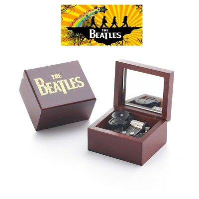 Red Wood Engrave ( The Beatles )  Music Box  ♫  Hey Jude  ♫