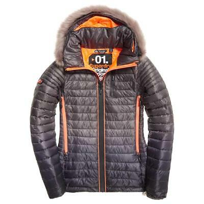 Superdry Power Fade Fur Multicolor , Abrigos y parkas Superdry , moda