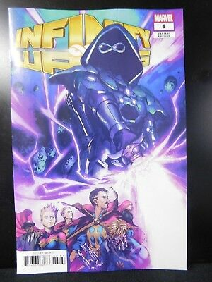 Infinity Wars #1 1:25 Retailer Incentive Variant Cover by Karmome Shirahama!
