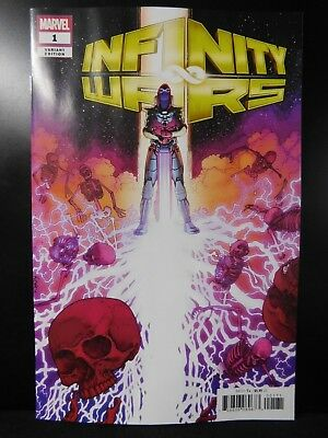 Infinity Wars #1 1:50 Retailer Incentive Variant Cover by Aaron Kuder!