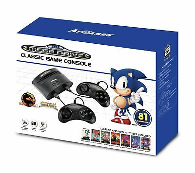 Sega Megadrive Standard Games Console with 81 Games