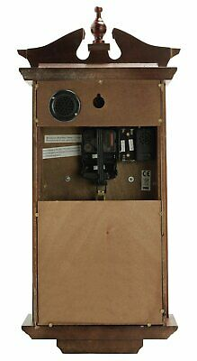 Argos Home Regulator Pendulum Wall Clock - Dark Oak