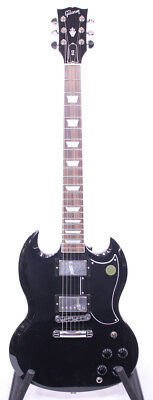 Gibson SG Standard T Electric Guitar in Ebony Finish CASE 2017