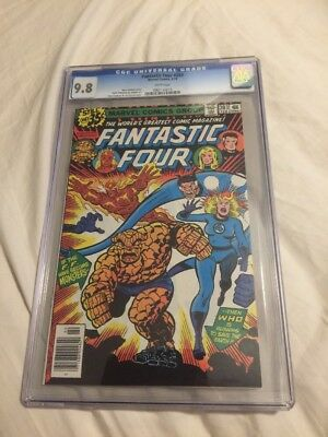 Fantastic Four 203 CGC 9.8 FF Become Monsters!!!!