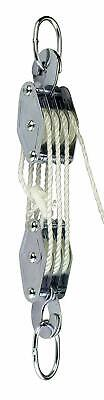 Cargo Lifting Pulley Set...heavy-Duty Block & Tackle 180Kg By Showhas