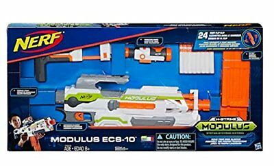 New Nerf N-Strike Modulus ECS-10 Blaster gun Targeting scope dart clip