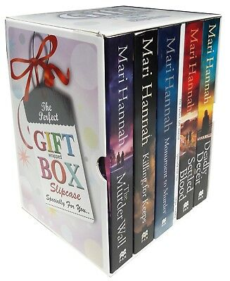 Kate Daniels Series Mari Hannah Collection 5 Books Set Gift Wrapped Slipcase New
