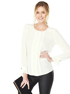 V by Very Pleat Detail Blouse