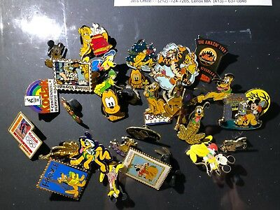25 PLUS Collector Pin lot - 95% Disney, many Pluto