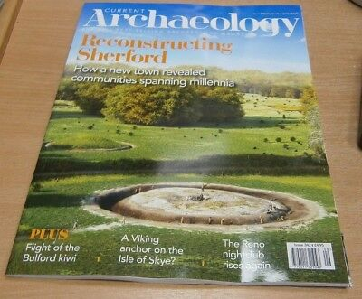 Current Archaeology magazine #342 Sep 2018 Reconstructing Sherford & more