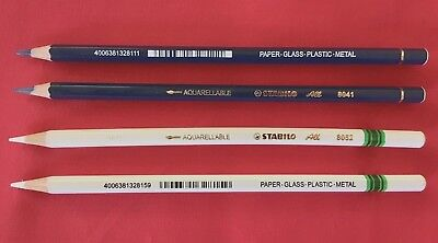 4)  STABILO Pin striping SIGN Painter PENCILS 2) blue 2) white